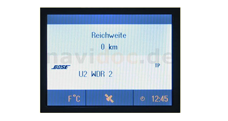 navidoc.de - Reparatur für Navigationsgerät Opel CID Color Info Display